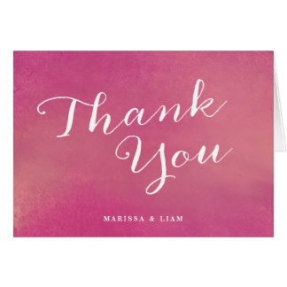 Pure Love Wedding Thank You Cards / Rose