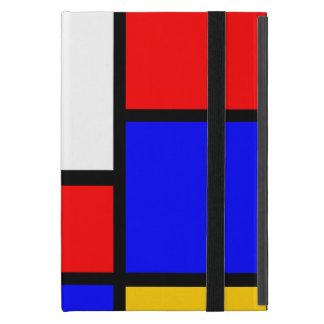 Pure Mondrian style Covers For iPad Mini