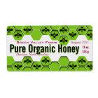 Pure Organic Honey Jar Personalized