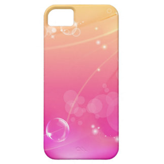 Pure pink abstract background glowing iPhone 5 covers