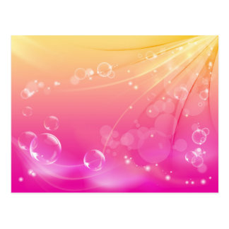 Pure pink abstract background glowing postcard