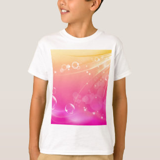 Pure pink abstract background glowing T-Shirt