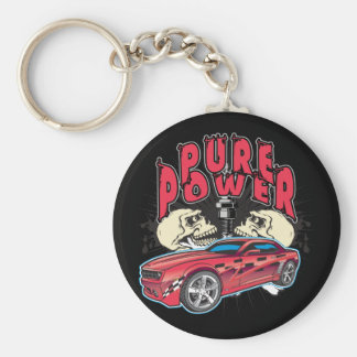 Pure Power Camaro Keychain