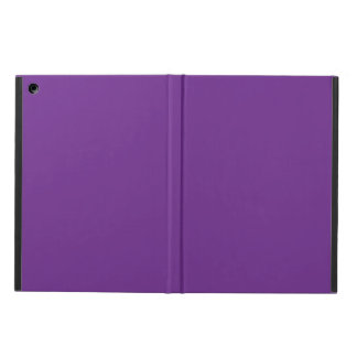 Pure Purple Personalized Trend Colour Background iPad Air Case