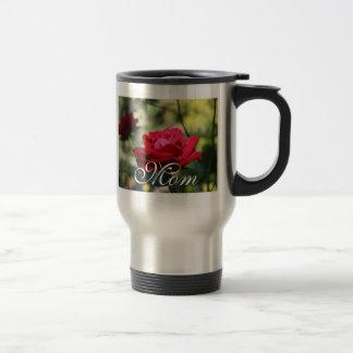 pure red travel mug