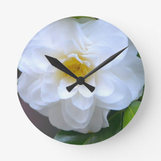 Pure Round Clock