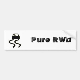 Pure RWD Bumper Sticker