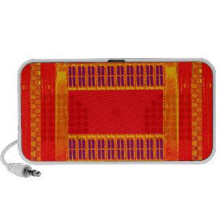 Pure Saffron Durga Religious Hindu Hinduism Pundit iPhone Speakers