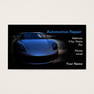Pure Speed Junkie Business Card
