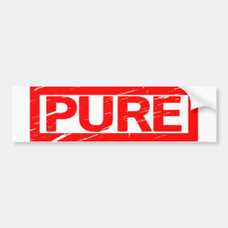Pure Stamp Bumper Sticker