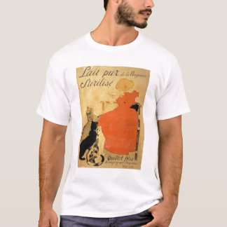 'Pure Sterilized Milk from La Vingeanne', 1894 (co T-Shirt