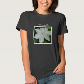 Pure White Clematis Shirt