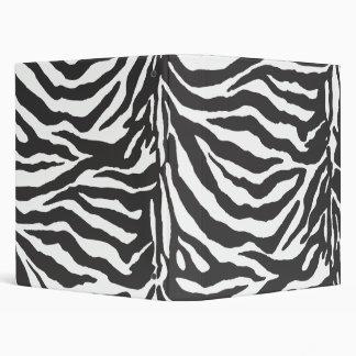 Pure Zebra Vinyl Binders