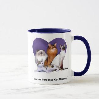 Purebred Cat Rescue Mug