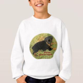 pureinnocence rottweiler puppy sweatshirt