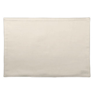 Purely Nostalgic White Color Placemat