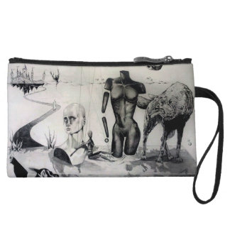 Purgatory - Caught in the Middle Wristlet Clutch