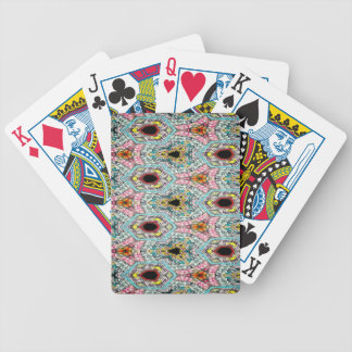 Purifying Abstinence Pattern 2 Bicycle Playing Cards
