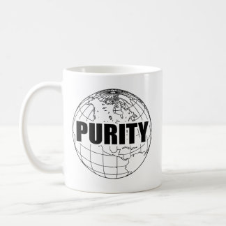 PURITY GLOBE (B & W) MUG