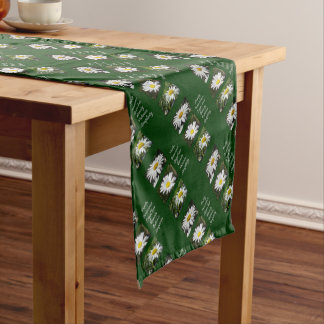 Purity, Innocence and Love Short Table Runner
