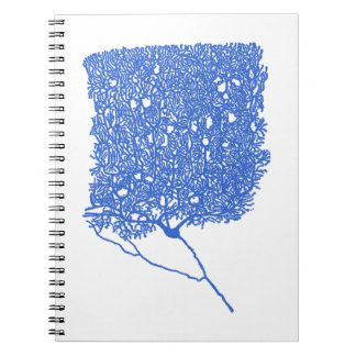 Purkinje Cell Spiral Notebook