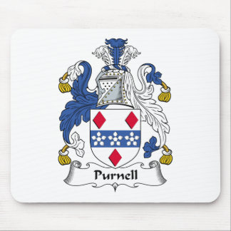 Purnell Family Crest Mouse Pad
