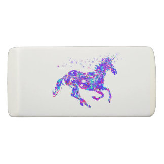 Purpl Swirl Unicorn Eraser Back to School Supplies