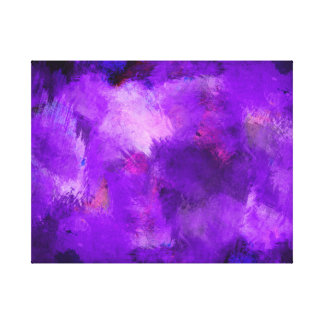 Purple Abstract 002 Design Color Canvas