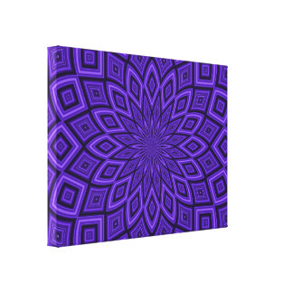 Purple Abstract 003 Design Color Canvas