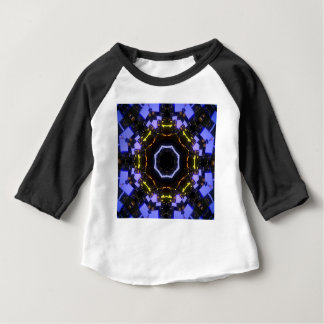 Purple abstract baby T-Shirt