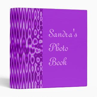 purple abstract binder