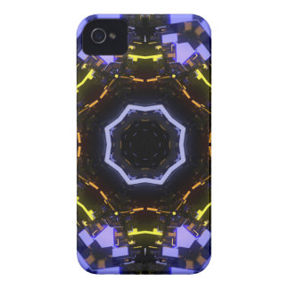 Purple abstract Case-Mate iPhone 4 case