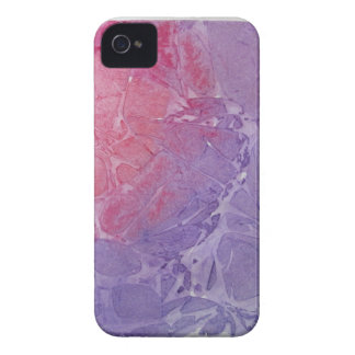 Purple Abstract Case-Mate iPhone 4 Cases