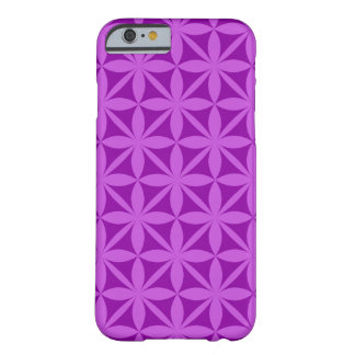 Purple abstract code030 barely there iPhone 6 case