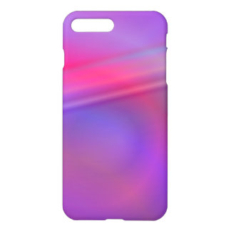 Purple abstract design iPhone 7 plus case