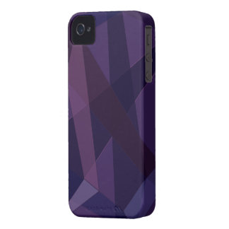 Purple Abstract iPhone 4 Case