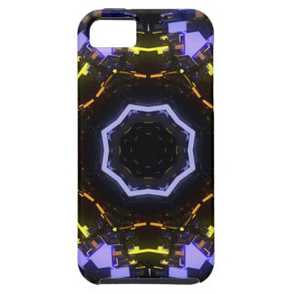 Purple abstract iPhone 5 cases