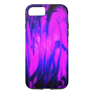 Purple Abstract iPhone 8/7 Case