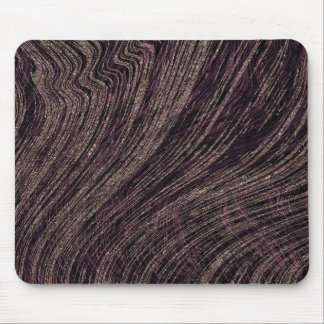 Purple Abstract Marble Print Mouse Pad