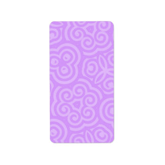 Purple Abstract Pattern