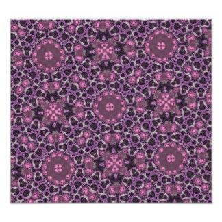 Purple ABstract PAttern Photo