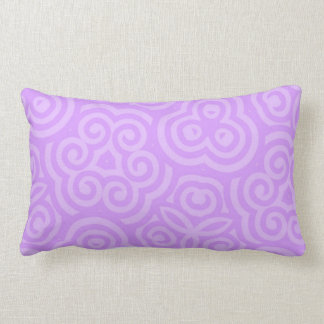 Purple Abstract Pattern Pillows