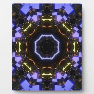 Purple abstract plaque