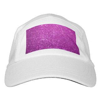 Purple Abstract Shine Glitter Hat
