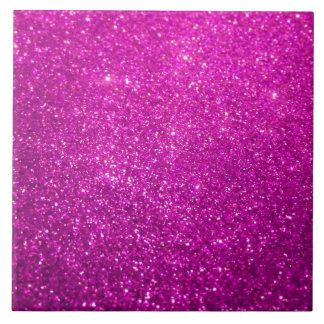 Purple Abstract Shine Glitter Tile