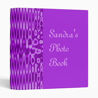 purple abstract vinyl binders