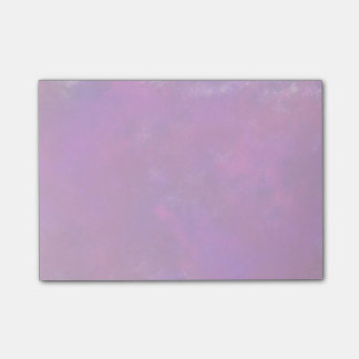 Purple Abstract Watercolor Post-it Notes
