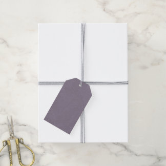 Purple Acanthus Damask Gift Tags Pack Of Gift Tags