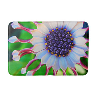 Purple African Daisy Bath Mat