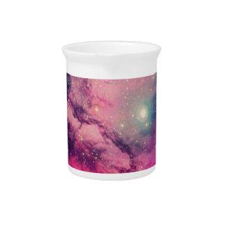 Purple Afterglow Galaxy Pitcher